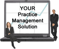 Your Practice Management Solution Graphic